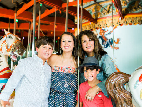 hot town, summer in the city | ny family photographer