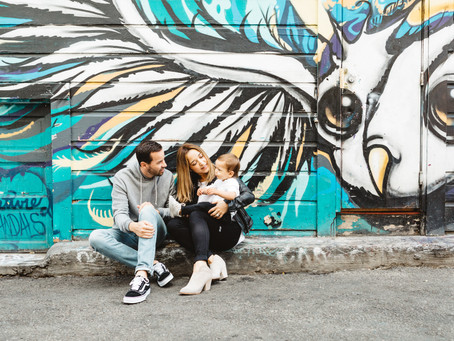 mission murals // san francisco family photographer