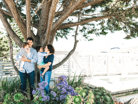 mini college reunion in the marina // san francisco family photographer