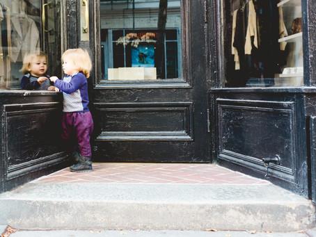 west village charm | ny family photographer