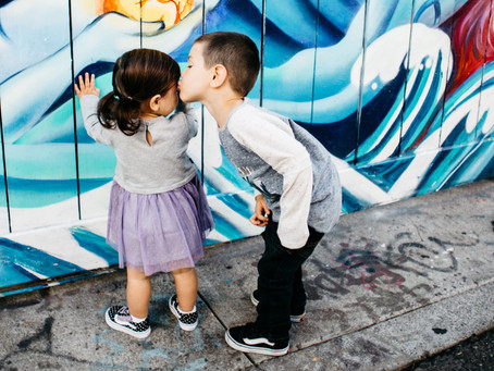 minis at the murals // san francisco family photographer