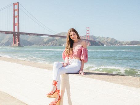 sf senior photo session // san francisco senior photographer