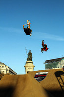 Back to BMX back backflips at Dew Tour San Francisco.  Invisiblesmiley (c)2020