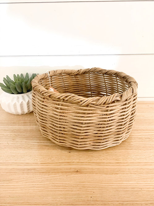 Hands Producing Hope Wicker Basket