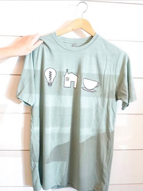 Light House T-Shirt Blue