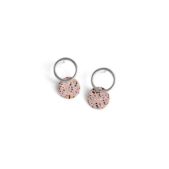 Silver APRICOT Earrings