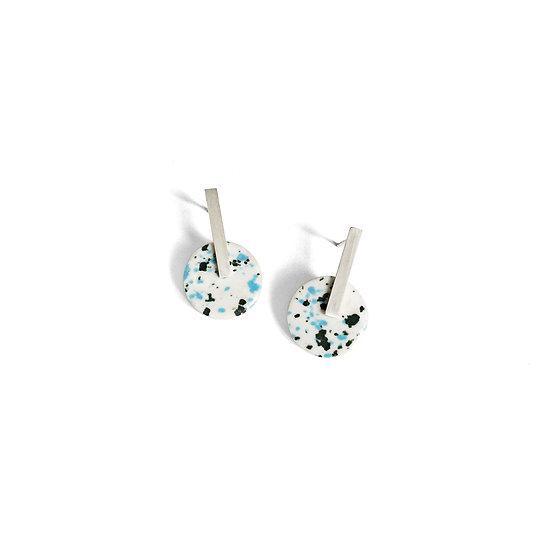 TERRAZZO Porcelain Earrings