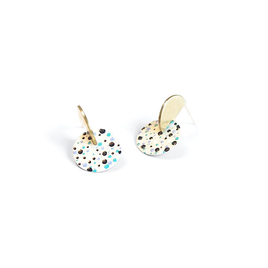 JUNE MOTTLED earrings
