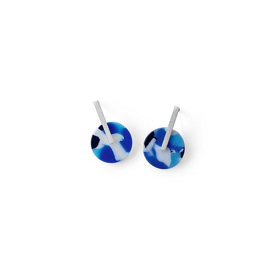Silver AZURE earrings