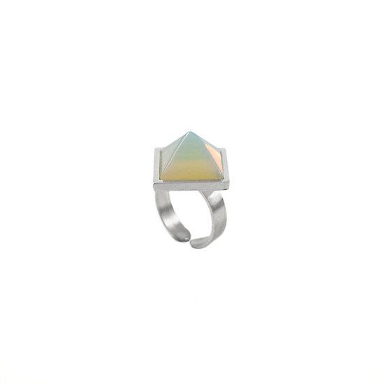 Pyramid OPALITE ring