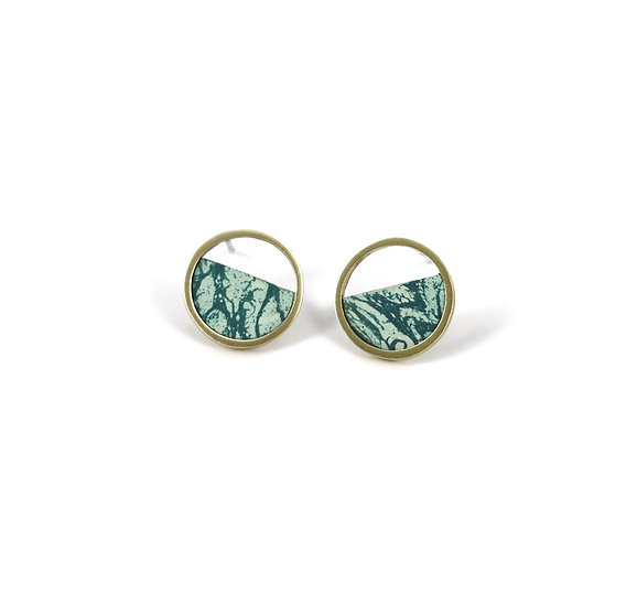Mini Stratos MINT earrings