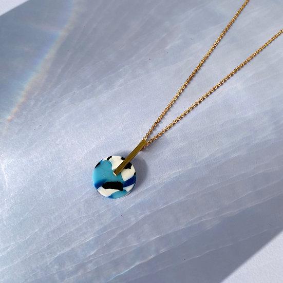 Acetate AZURE necklace