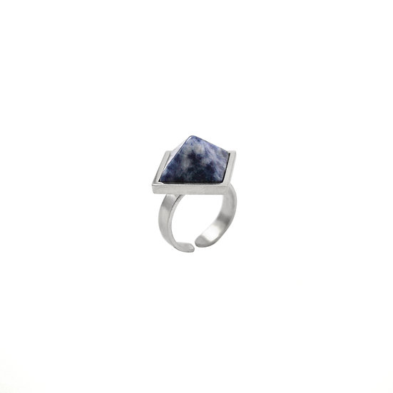 Pyramid SOLDALITE ring