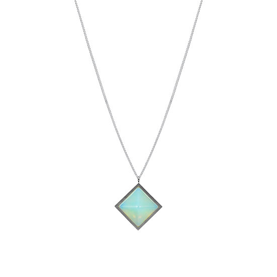 Pyramid OPALITE necklace