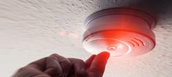 Testing Domestic Home Smoke Alarm detect