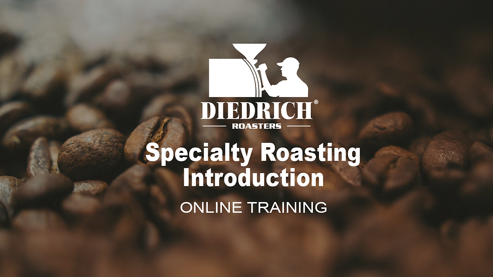 Introduction to Diedrich Specialty Roaster
