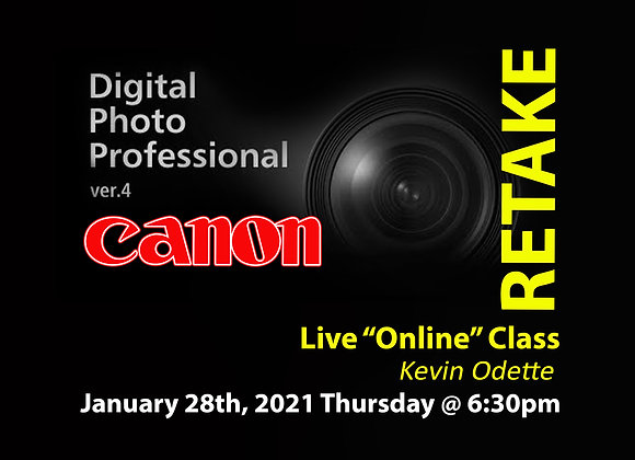 RETAKE Online Canon Digital Photo Professional