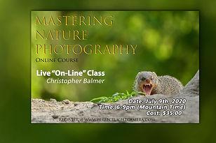 Masturing Nature Photography Christopher