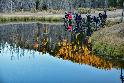 Image of lake reflection by Christopher Balmer Redfish Lake Photo Tour