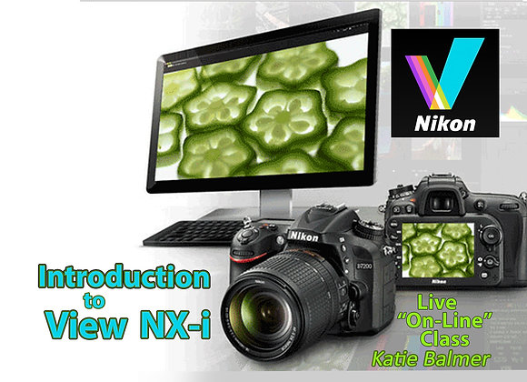 Introduction To VIEW NX-i SOFTWARE