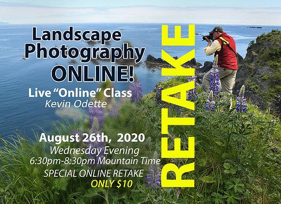RETAKE Online Landscape Photography