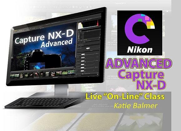 Advanced CAPTURE NX-D SOFTWARE