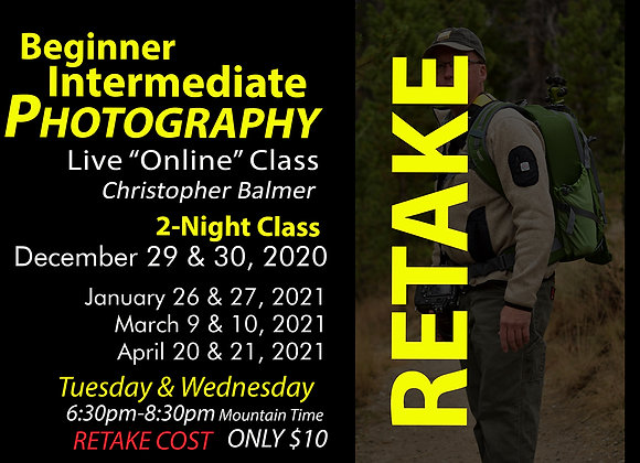 RETAKE Online BEG-INT PHOTOGRAPHY