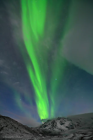 Image of Northern Lights by Christopher Balmer on Iceland Photo Tour