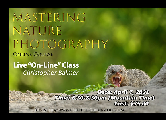 MASTERING NATURE PHOTOGRAPHY