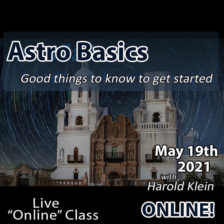 Astro Basics May 19, 2021