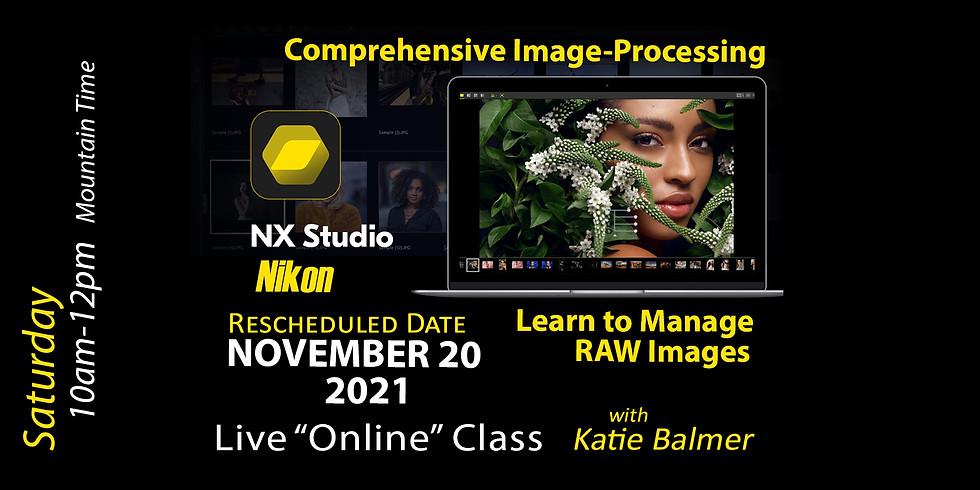 Nikon's NX Studio (Nikon's RAW Management) November 20, 2021