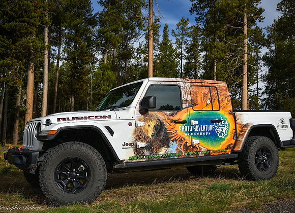 JEEP TOURS into Yellowstone National Park