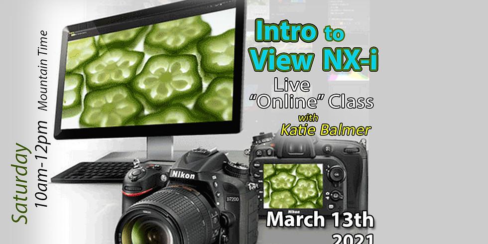 View NX-i (Nikon's RAW Management) March 13, 2021