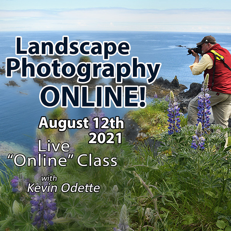 Landscape Photography Course August 12th, 2021