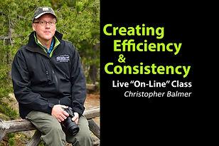 Creating Efficiency & Consistency Christ
