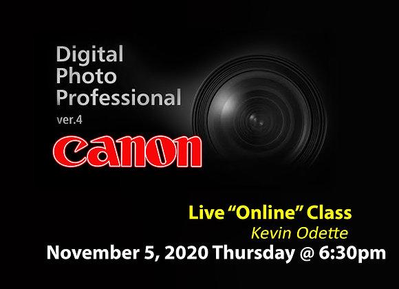 Canon's Digital Photo Professional SOFTWARE
