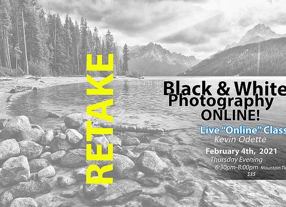 RETAKE Online Black & White Photography