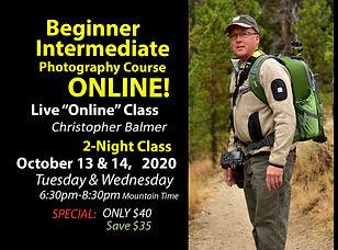Beginner Intermediate Christopher ONLINE