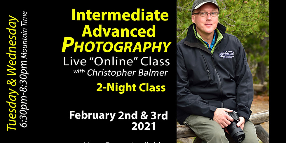 PRACTICE.  Intermediate Advanced Photography Course
