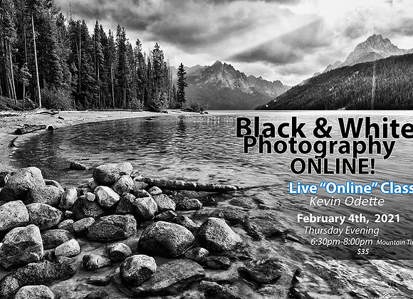 Black & White Photography with Conversion Demo