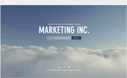 Marketing Launch Page