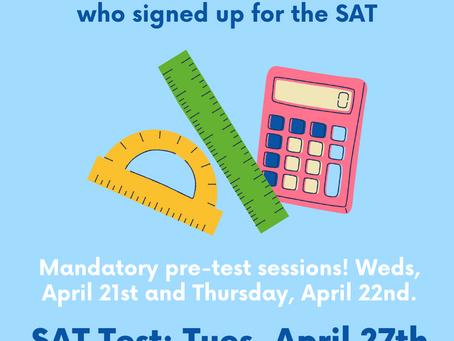 SAT: Pre-registered Juniors