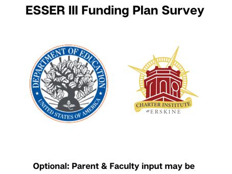 ESSER III Funding Plan Survey