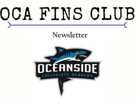 Fins Club Newsletter