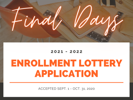 2021-2022 Enrollment Lottery