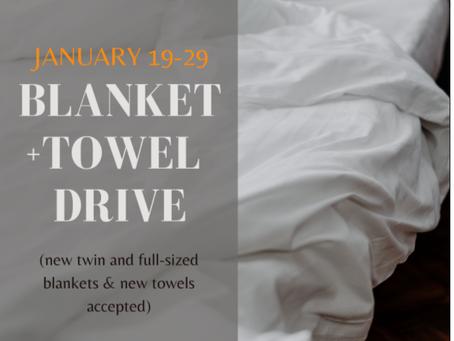 NHS Blanket & Towel Drive