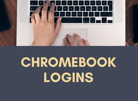 Chromebook logins