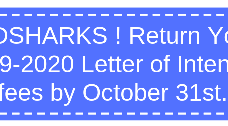 Landsharks Reminder