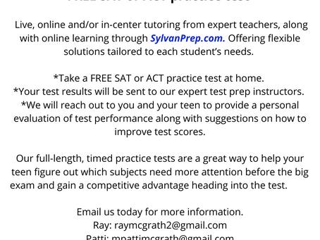 ACT/SAT Test Prep
