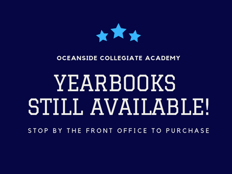 Yearbooks - Last Chance to Order